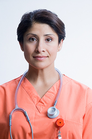 Female doctor with stephoscope